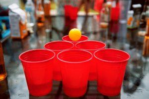 studiefester - beer pong